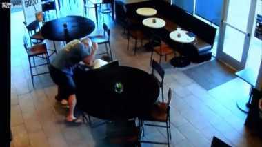 VIDEO: Lihat Perampok Beraksi, Pria AS Ini Nekat Menghentikannya