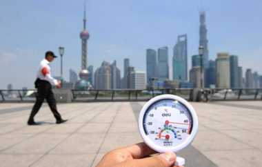 Warga Shanghai Bersyukur Hadapi Hari Terpanas dalam 145 Tahun Terakhir, Nah Loh?