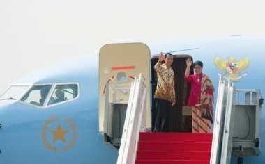 Presiden Jokowi Tiba di Ibu Kota Usai Melakukan Kunjungan Kerja ke Pekanbaru