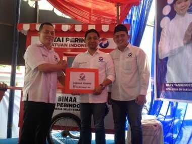 Sumbangkan Ambulans untuk Partai, Dua Ketua DPD Perindo di Sumut Diganjar Penghargaan
