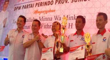DPD Perindo Sibolga dan DPC Amandraya Raih Target KTA Online Tertingi di Sumut