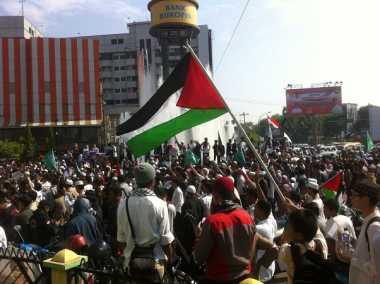 Masjid Al Aqsa Diusik Israel, Ribuan Warga Medan Gelar Aksi Solidaritas