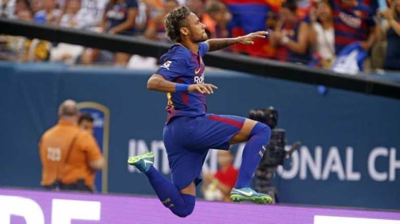 Dendam Terbalaskan, Barcelona Tundukkan Juventus 2-1 di International Champions Cup 2017