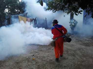 Rescue Perindo DIY Gelar Fogging, Masyarakat Puas