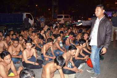 Nekat Balapan Liar di Suramadu, 154 Pemuda dan 170 Motor Diamankan Polisi