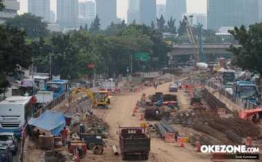 Simpang Kuningan Jaksel Macet, Warga Diimbau Cari Jalan Alternatif
