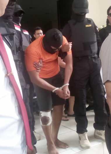 Sembunyi di Cipayung, Security Pembunuh Cindy Ditembak di Bagian Kaki