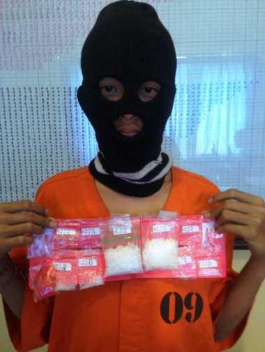 Polisi Amankan 50,58 Gram Sabu dari Kurir Narkoba yang Masih Bocah