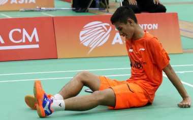 Alami Kram, Jadi Kegagalan Gatjra Piliang Sumbang Poin di Semifinal Kejuaraan Bulu Tangkis Junior Asia 2017
