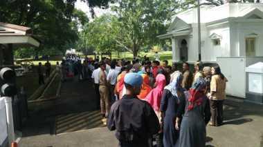 24.346 Orang Serbu Istana Kepresidenan Bogor, Ada Apa?