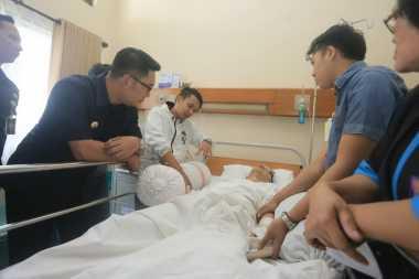 Jadi Korban Duel Persib vs Persija, Ricko Terkapar di Rumah Sakit Akibat Gegar Otak