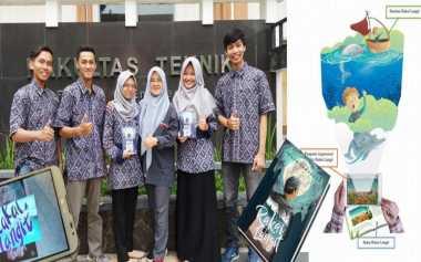 Tingkatkan Minat Baca, Mahasiswa Ciptakan Buku Berbasis Augmented Reality