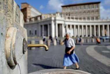 Italia Dilanda Kekeringan, Air Mancur di Vatikan Dimatikan