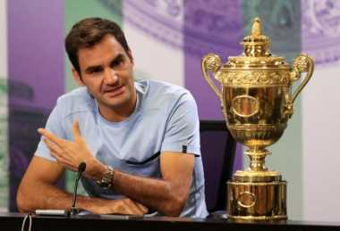 Fokus Incar Ranking Satu Dunia, Federer: Pertarungan Saya Bukan Hanya dengan Nadal