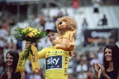 Juarai Tour de France 2017, Chris Froome: Saya Menikmati Balapan Ini
