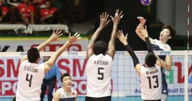 Lewat Pertarungan Sengit, Australia Sukses Kalahkan Thailand di Babak Penyisihan Grup Kejuaraan Voli Asia 2017