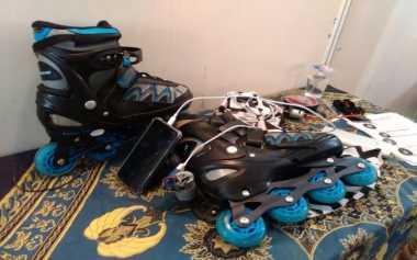 Mahasiswa Sulap Sepatu Roda Jadi Power Bank, Kok Bisa?