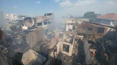 Fantastis! Kerugian Akibat Kebakaran di Senen Ditaksir Ratusan Juta Rupiah