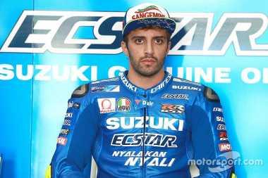 Diminati Aprilia, Andrea Iannone Mantap Bertahan di Suzuki