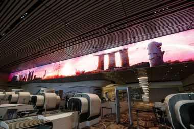Intip Yuk Kecanggihan Terminal 4 Bandara Changi Biar Enggak Norak