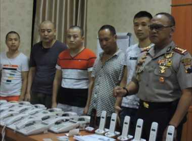 Lima WN China Ditangkap di Semarang Diduga Korban Human Trafficking