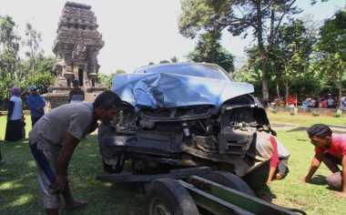 Cerita Juru Kunci, Misteri di Balik Insiden Mobil Tabrak Candi Kidal