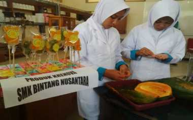 Siswa SMK Sulap Biji Pepaya Jadi Permen Jelly untuk Obat Cacingan