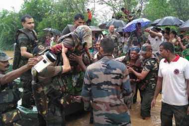 Innalillahi! Banjir Surut, 17 Anggota Keluarga Ditemukan Tewas di India