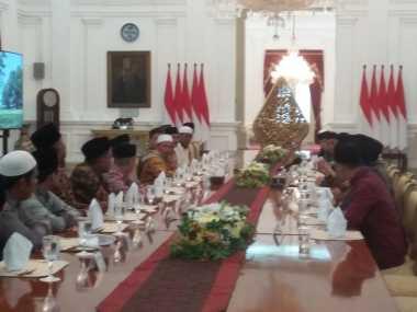 Jokowi Terima Ulama Kalbar di Istana Merdeka, Apa yang Dibahas?