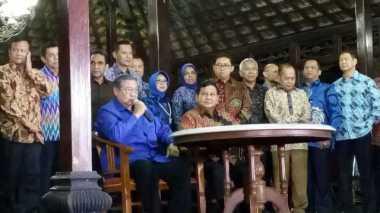 Usai Bertemu Prabowo, SBY: Pertemuan Ini Sesuatu yang Biasa...