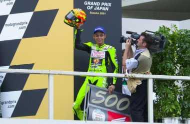SPORTPEDIA: GP Jepang 2001, Momen Perdana Valentino Rossi Raih Kemenangan Bareng Repsol Honda