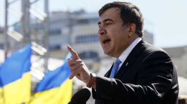 Balas Dendam, Mantan Presiden Georgia Bersumpah Sulut Kudeta di Ukraina