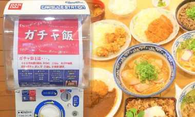 Coba Adu Keberuntungan dengan Mesin Kapsul Makanan Jepang Satu Ini