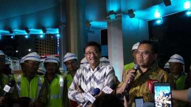 Sisa Dana Simpang Susun Semanggi Rp219 Miliar untuk Bangun Trotoar