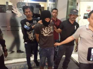 Ditangkap! Seorang Pria Sakau yang Nekat Sembunyikan Paket Sabu di Dubur