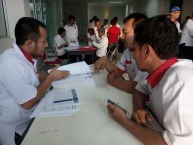 Persiapan Verifikasi KPU, Pengurus DPP Cek Administrasi Perindo Jateng