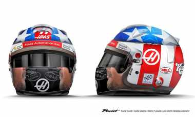 Demi Penghormatan kepada Mendiang Hayden, Grosjean Desain Helm Baru untuk Balapan di COTA