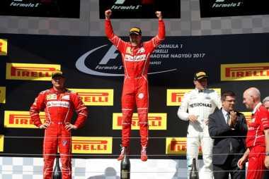 Tempati Posisi Puncak Klasemen, Vettel: Kami Sudah Tahu yang Dibutuhkan Mobil