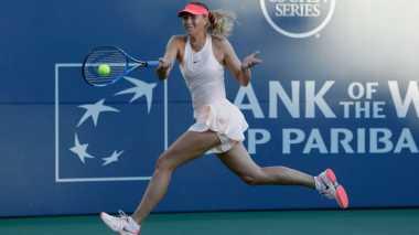 Akibat Cedera, Sharapova Mengundurkan Diri dari Cincinnati Terbuka