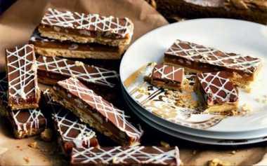 POP SUGAR: Camilan Lezat Roti Kering Cokelat Karamel untuk si Kecil