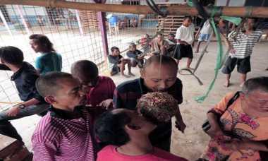 HARI MERDEKA: Seru! Pasien Gangguan Kejiwaan Ikuti Lomba Agustusan