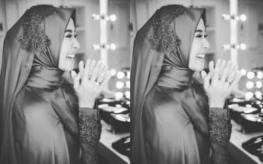 Semakin Cantik Jelang Pernikahan, Sontek Gaya Hijab Laudya Cynthia Bella Yuk!