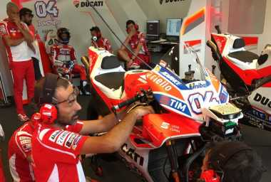 Tanpa Winglet, Dovizioso Akui Ada Perubahan Performa Motor Ducati