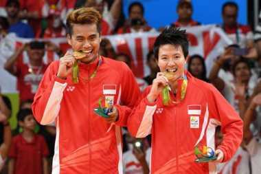 HARI MERDEKA: Momen Emas Tontowi/Liliyana di Olimpiade 2016, Kado Manis di Hari Ulang Tahun Indonesia