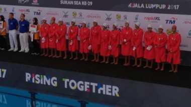 SEA Games 2017, Telan 2 Kekalahan, Timnas Polo Air Putri Siap Raih Perunggu