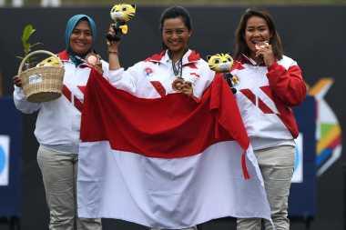 SEA Games 2017: Raih Perunggu, Tim Panahan Beregu Putri Kalahkan Thailand