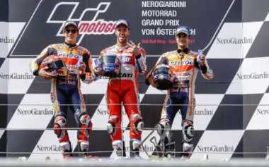 Sukses Asapi Marquez di MotoGP Austria, Kepintaran Dovizioso Tuai Pujian