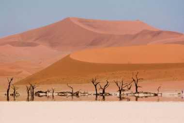 Hiii...Taman Nasional di Afrika Hadirkan Pesona Tempat Tinggal Alien