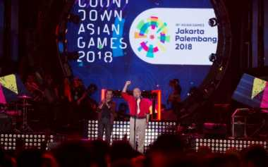 Penasaran Suasana Countdown Asian Games 2018, Saksikan Live Streaming-nya di Sini