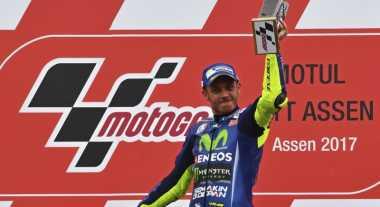 Tampil Kompetitif di MotoGP 2017, Salucci: Rossi Bertekad Raih Gelar Juara Dunia Ke-10
